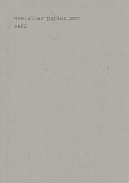 altes graues Universalpapier PA02