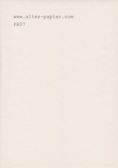 vergilbtes IEK Papier Blatt PA07