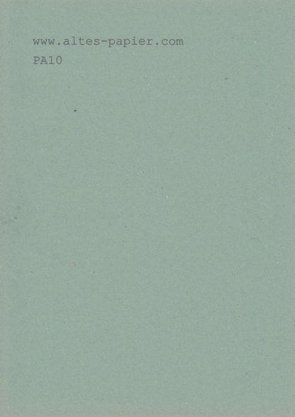 altes blaugrünes Papier PA10