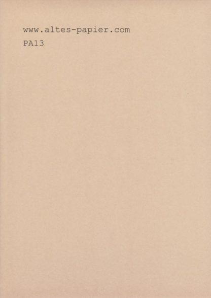 altes braunes Lichtpauspapier PA13