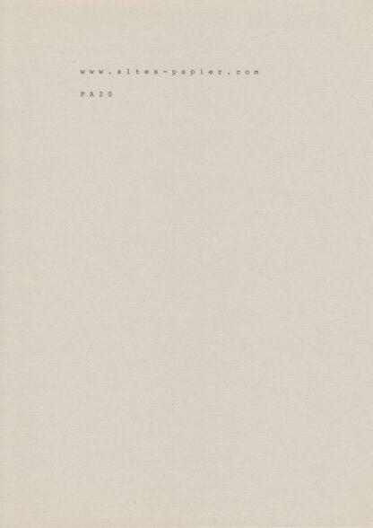 graues geripptes MK Papier PA20