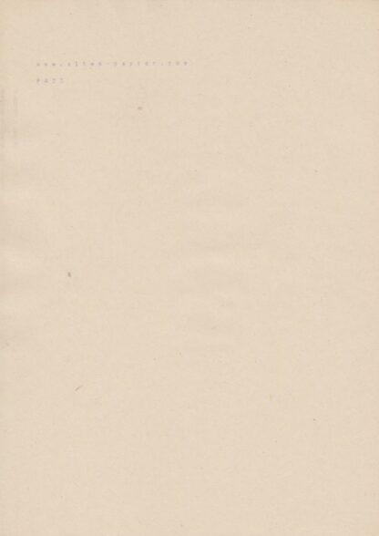 vergilbtes Schreibmaschinenpapier PA23