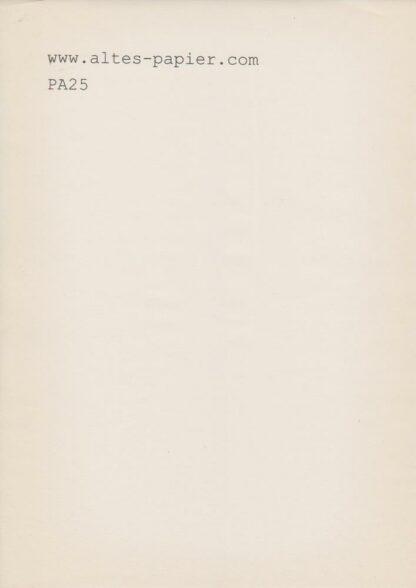 manila Schreibmaschinen Papier PA25