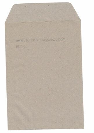 alter grauer Briefumschlag BU10