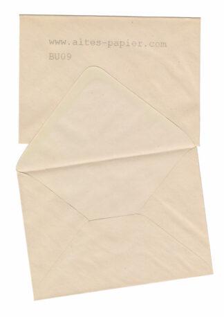 alte Briefumschläge vergilbt